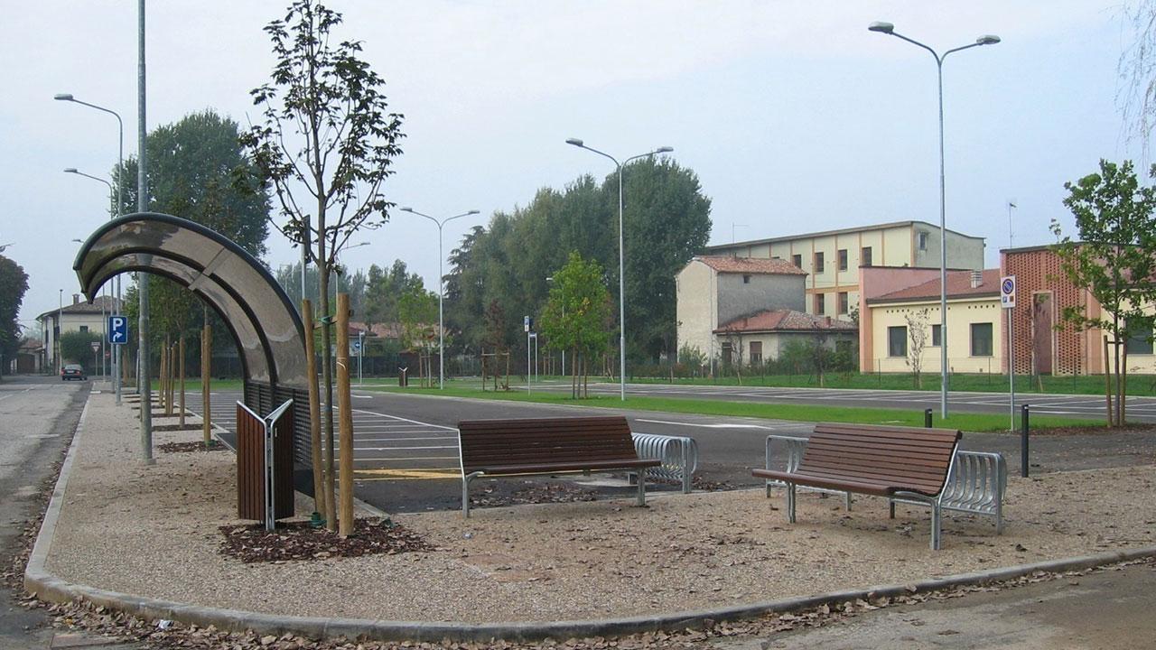 Area di sosta per autovetture e camper | Via D'Annunzio | San Benedetto Po (MN)