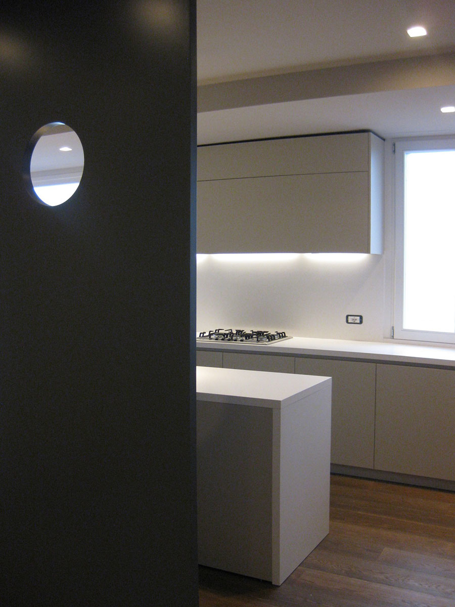Appartamento Via Frutta Studio RND. Michele Rondelli, architetto paesaggista. Mantova