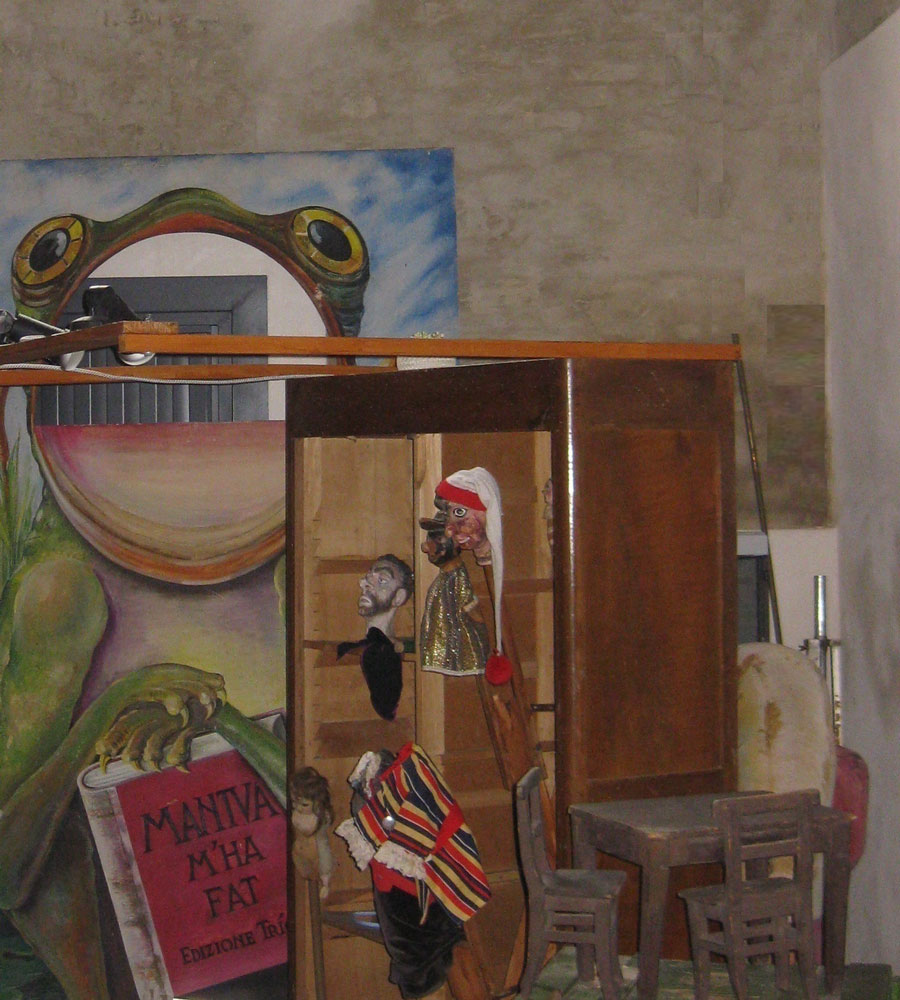 Casa dei Burattini | Spazio espositivo Centro Teatrale Corniani – Quingentole