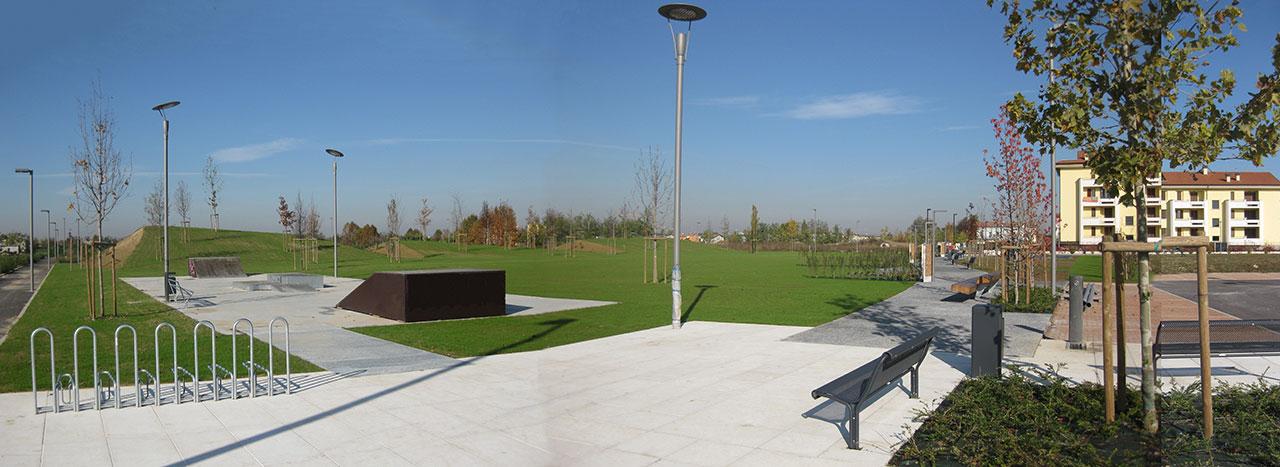 Architetto Michele Rondelli - Mantova - Parco Le Ghirlande