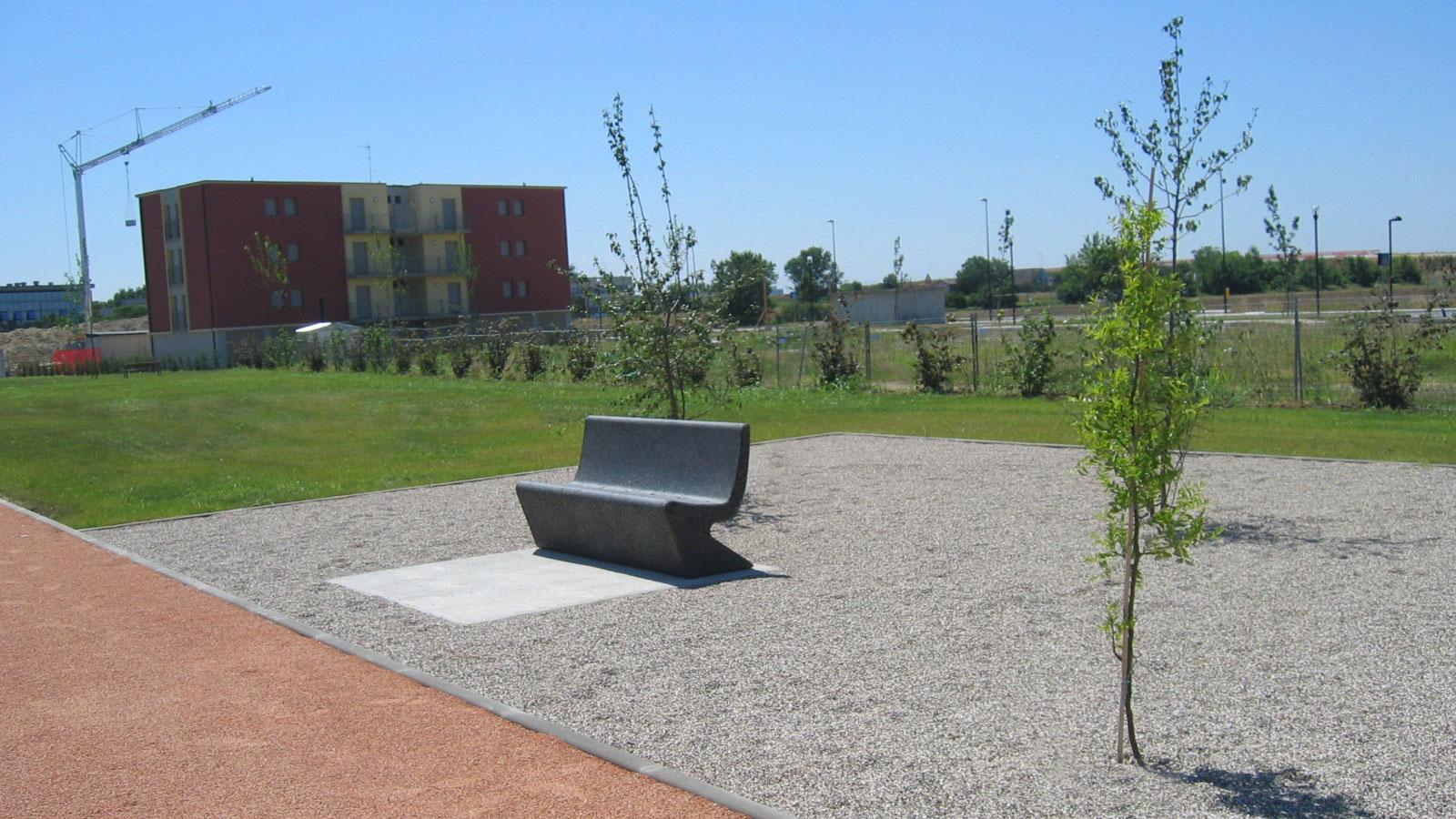 Architetto Michele Rondelli - Parco pubblico periurbano Chiesanuova - Mantova